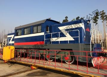 ZTYS1400 (dual power) internal combustion locomotive