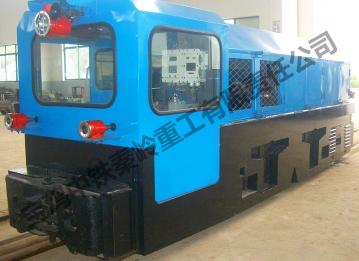 ZTY90 mine locomotive with explosion-proof diesel engine