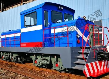 ZTYS640 internal combustion locomotive (dual power)